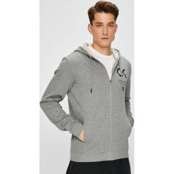 Calvin Klein Performance - Bluza. Szare bejsbolówki męskie Calvin Klein Performance, l, z nadrukiem, z bawełny, z kapturem. Za 349,90 zł.