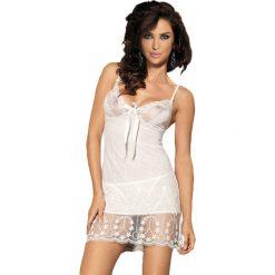 """Bielizna damska: Koszula nocna """"Countees"""" w kolorze perłowym"""