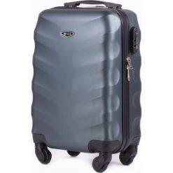 PODRĘCZNA WALIZKA KABINOWA S SOLIER ABS DARK GREEN. Zielone walizki Solier, w paski, z gumy, małe. Za 149,00 zł.