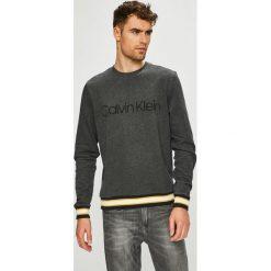 Calvin Klein - Bluza. Szare bejsbolówki męskie Calvin Klein, l, z nadrukiem, z bawełny, bez kaptura. Za 499,90 zł.