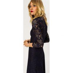 Długie sukienki: IVY & OAK MIDI DRESS Długa sukienka navy blue