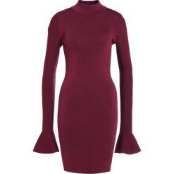 MICHAEL Michael Kors BELL  Sukienka etui merlot. Czerwone sukienki dzianinowe marki MICHAEL Michael Kors, xl. W wyprzedaży za 474,50 zł.