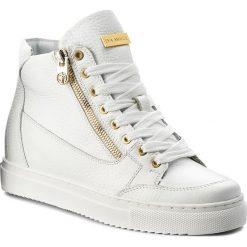 Sneakersy EVA MINGE - Liria 3N 18BD1372378ES 102. Białe sneakersy damskie Eva Minge, z materiału. W wyprzedaży za 309,00 zł.