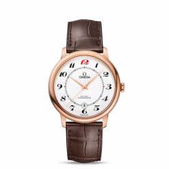 ZEGAREK OMEGA De Ville 424.53.40.20.04.004. Białe zegarki męskie marki OMEGA, szklane. Za 42900,00 zł.