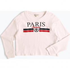 Review - Dziewczęca koszulka z długim rękawem, czarny. Białe bluzki dziewczęce bawełniane marki FOUGANZA. Za 59,95 zł.