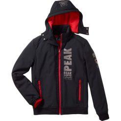 Kurtka softshell Regular Fit bonprix czarny. Czarne kurtki męskie marki bonprix, m, z materiału. Za 179,99 zł.