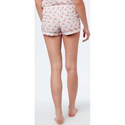 Etam - Szorty piżamowe. Niebieskie piżamy damskie marki Etam, l, z bawełny. W wyprzedaży za 39,90 zł.