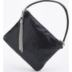 Torebka z metalowym frędzlem - Czarny. Czarne torebki klasyczne damskie Reserved. Za 119,99 zł.