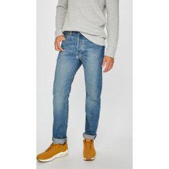 Levi's - Jeansy 501. Brązowe jeansy męskie regular Levi's®. Za 329,90 zł.