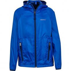 """Kurtka funkcyjna """"Ether"""" w kolorze niebieskim. Niebieskie kurtki chłopięce marki Marmot Kids, z materiału. W wyprzedaży za 132,95 zł."""