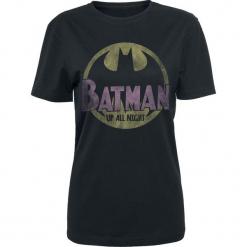 Batman Up All Night Koszulka damska czarny. Czarne bluzki damskie Batman, l, z motywem z bajki. Za 99,90 zł.