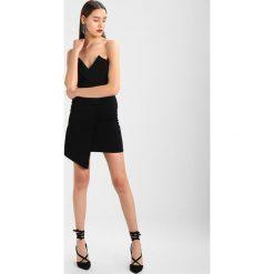 Sukienki: Missguided WRAP BANDEAU DRESS Sukienka koktajlowa black