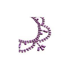 Naszyjniki damskie: naszyjnik klasyczny we wzory, z koralikamizestaw