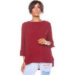 """T-shirty damskie: Koszulka """"Manon"""" w kolorze bordowym"""