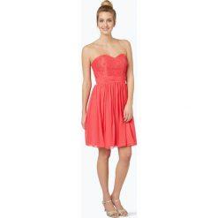 Laona - Damska sukienka koktajlowa, różowy. Czerwone sukienki koronkowe marki Laona, l, w koronkowe wzory. Za 649,95 zł.