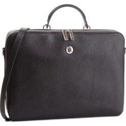 Torba na laptopa TOMMY HILFIGER - Core Laptop Bag AW0AW05826 002. Czarne torby na laptopa marki TOMMY HILFIGER, ze skóry ekologicznej. Za 649,00 zł.