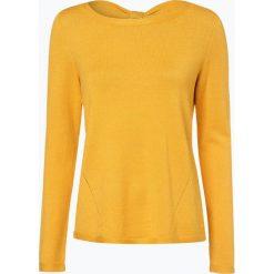 Comma - Sweter damski, żółty. Żółte swetry klasyczne damskie comma, z kokardą. Za 249,95 zł.