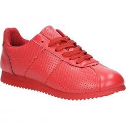 Czerwone buty sportowe sznurowane Casu 87-4A. Czarne buty sportowe damskie marki Casu. Za 59,99 zł.