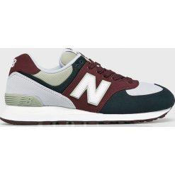New Balance - Buty ML574INE. Szare buty skate męskie New Balance, z gumy. Za 349,90 zł.