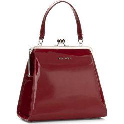 Torebka BELLUCCI - R-110 Czerwony Lak. Czarne torebki klasyczne damskie marki Bellucci. W wyprzedaży za 209,00 zł.