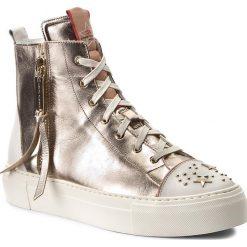Sneakersy damskie: Sneakersy ELISABETTA FRANCHI – SA-24S-76E2 Light Gold 426