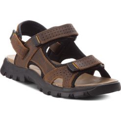 Sandały GINO ROSSI - Cree MN2662-TWO-BN00-3700-T 92. Brązowe sandały męskie skórzane marki Gino Rossi. W wyprzedaży za 149,00 zł.