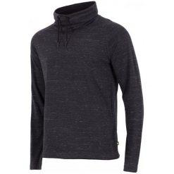 4F Męska Koszulka H4Z17 tsml003 Czarny Melanż S. Czarne koszulki sportowe męskie 4f, l, z bawełny, z długim rękawem. W wyprzedaży za 56,00 zł.