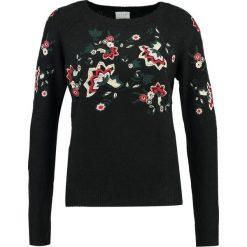 Swetry damskie: Vila VIESTONI Sweter black