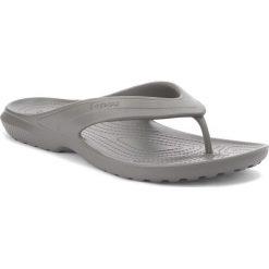 Japonki CROCS - Classic Flip 202635 Slate Grey. Szare chodaki męskie Crocs, z materiału. Za 89,00 zł.