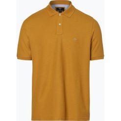 Fynch Hatton - Męska koszulka polo, żółty. Żółte koszulki polo Fynch-Hatton, l, z haftami, z bawełny. Za 179,95 zł.