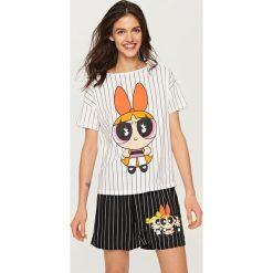 Piżamy damskie: Piżama powerpuff girls – Biały