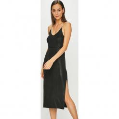 Diesel - Sukienka. Czarne sukienki na komunię Diesel, na co dzień, l, z materiału, casualowe, na ramiączkach, dopasowane. Za 999,90 zł.