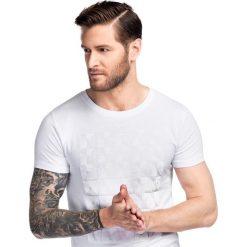 T-shirt BIAGIO TSBS000044. Białe t-shirty męskie z nadrukiem Giacomo Conti, na lato, m, z bawełny. Za 99,00 zł.