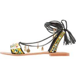 Rzymianki damskie: Glamorous Sandały black/multicolor