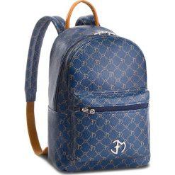 Plecak EVA MINGE - Mollet 4B 18NN1372624EF  113. Niebieskie plecaki damskie Eva Minge, ze skóry, eleganckie. W wyprzedaży za 479,00 zł.