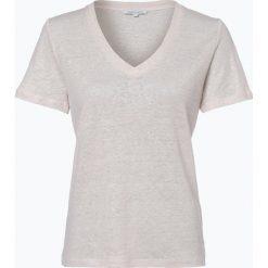 T-shirty damskie: Apriori – Damski T-shirt z lnu, beżowy