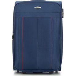 Walizka średnia V25-3S-272-90. Niebieskie walizki marki Wittchen, średnie. Za 159,00 zł.