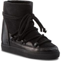 Buty INUIKII - Sneaker Classic 70203 -5 Black. Czarne buty zimowe damskie Inuikii, ze skóry. Za 1129,00 zł.
