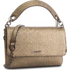 Torebka MONNARI - BAG7980-023 Gold. Brązowe torebki klasyczne damskie marki Monnari, w paski, z materiału, średnie. W wyprzedaży za 159,00 zł.