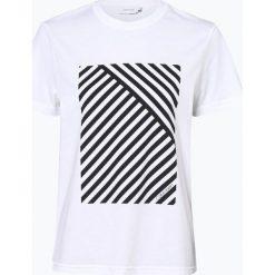 Calvin Klein Womenswear - T-shirt damski, czarny. Czarne t-shirty damskie Calvin Klein Womenswear, l, z nadrukiem. Za 179,95 zł.