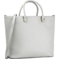 Torebka CREOLE - RBI10077 Szary. Szare torebki klasyczne damskie Creole, ze skóry. W wyprzedaży za 279,00 zł.