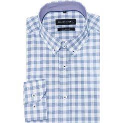 Koszula SIMONE KDWR000331. Czarne koszule męskie na spinki marki TOM TAILOR DENIM, l, z bawełny, button down, z długim rękawem. Za 259,00 zł.