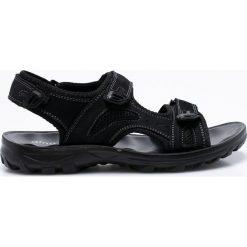 Gino Rossi - Sandały Jarvis. Czarne sandały męskie skórzane Gino Rossi. W wyprzedaży za 149,90 zł.