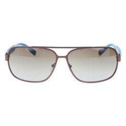 """Okulary przeciwsłoneczne męskie: Okulary przeciwsłoneczne """"GU6868"""" w kolorze brązowo-niebieskim"""