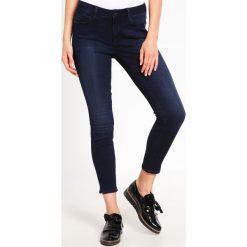 Mavi ADRINA ANKLE Jeans Skinny Fit midnight tribeca. Niebieskie boyfriendy damskie Mavi. Za 269,00 zł.