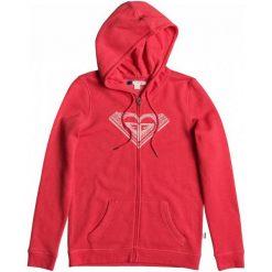 Roxy Bluza Cruiser Night Zip J Hibiscus S. Czerwone bluzy sportowe damskie marki Roxy, s, z dzianiny, z kapturem. W wyprzedaży za 179,00 zł.