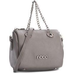 Torebka NOBO - NBAG-C4330-C019 Szary. Szare torebki klasyczne damskie Nobo, ze skóry ekologicznej. W wyprzedaży za 99,00 zł.
