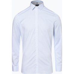OLYMP No. Six - Koszula męska łatwa w prasowaniu, niebieski. Niebieskie koszule męskie non-iron marki OLYMP No. Six, m, w kratkę. Za 199,95 zł.