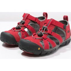 Keen SEACAMP II CNX Sandały trekkingowe racing red/gargoyle. Czerwone sandały chłopięce marki Keen, z materiału. Za 239,00 zł.