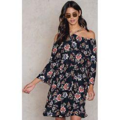 Sukienki hiszpanki: Trendyol Sukienka Siyah - Multicolor